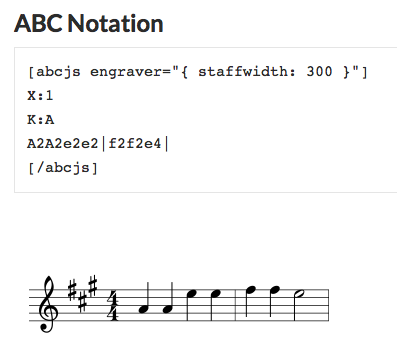 abc notation example