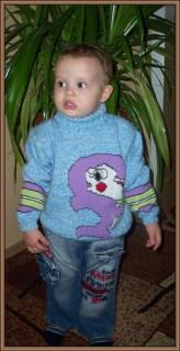 свитерок малого дельфин 2