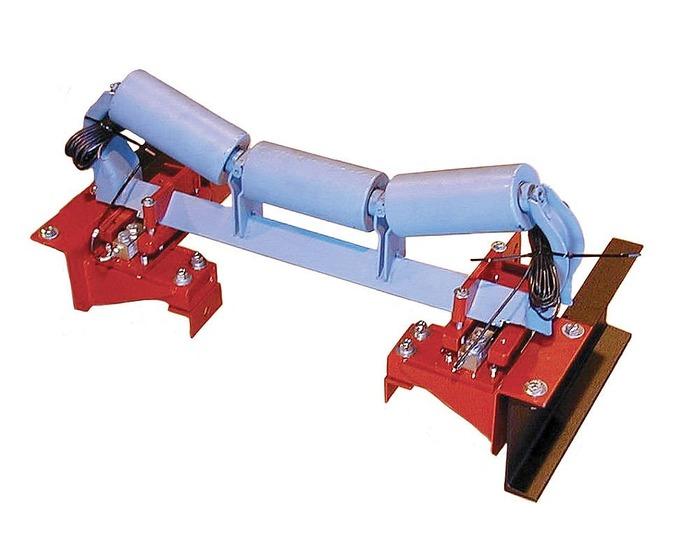 Роликоопора с контролером движения ленты