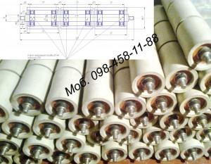 Ролики конвейерные полимерные