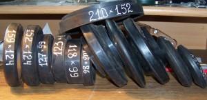 На предприятии налажен выпуск роликов конвейерных футерованных резиновыми кольцами