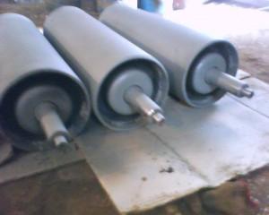 Барабаны приводные и натяжные, ролики конвейерные