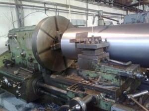 Барабан приводной конвейера D = 1000 мм , обработка поверхности