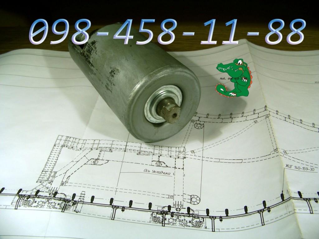Конвейерный ролик с 4-х элементным лабиринтным уплотнением