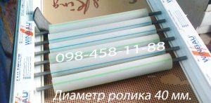 Полимерные конвейерные ролики диаметром 40, 50, 60 , 90 мм.